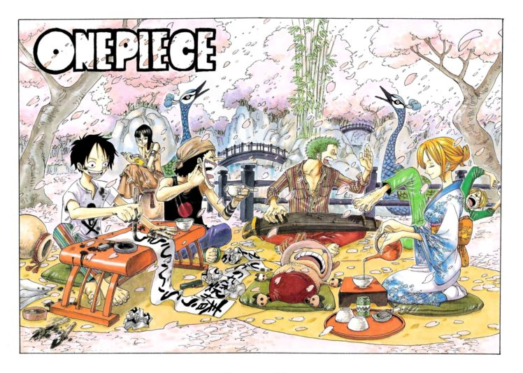 One Piece, Kimono, Usopp, Roronoa Zoro, Monkey D. Luffy, Nico Robin, Sanji HD Wallpaper Desktop Background