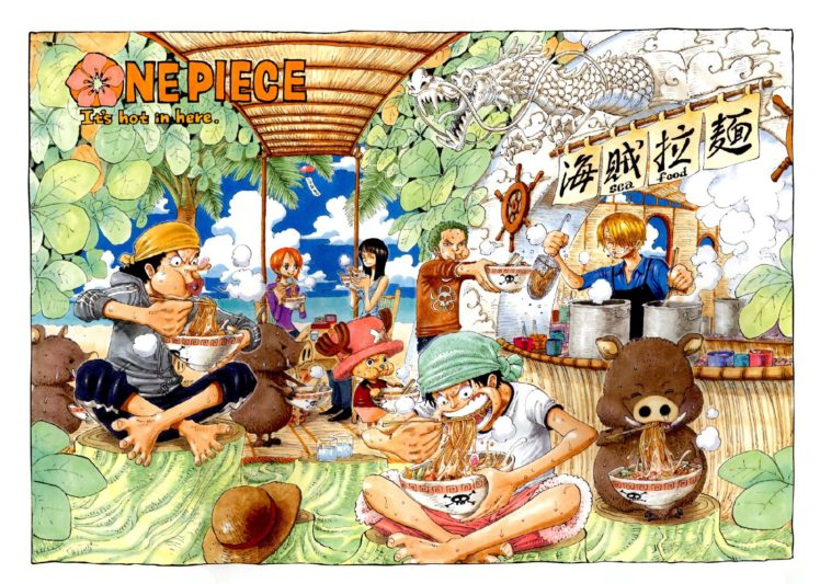One Piece, Monkey D. Luffy, Roronoa Zoro, Usopp, Nami, Nico Robin, Ramen, Sanji, Tony Tony Chopper HD Wallpaper Desktop Background