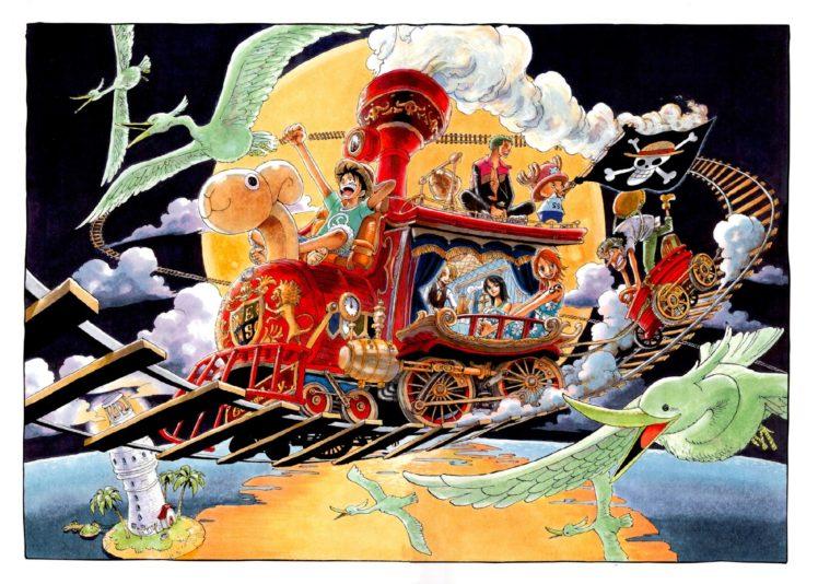 One Piece Monkey D Luffy Nami Nico Robin Roronoa Zoro Usopp