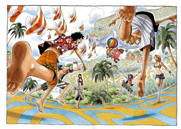 One Piece, Nami, Sanji, Nico Robin, Roronoa Zoro, Usopp, Monkey D. Luffy HD Wallpaper Desktop Background
