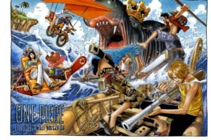 One Piece, Sanji, Roronoa Zoro, Nico Robin, Monkey D. Luffy, Tony Tony Chopper, Usopp, Nami