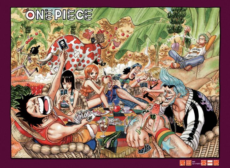 One Piece, Brook, Nami, Sanji, Nico Robin, Franky, Monkey D. Luffy, Roronoa Zoro, Tony Tony Chopper, Usopp HD Wallpaper Desktop Background