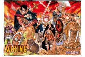 One Piece, Monkey D. Luffy, Sanji, Roronoa Zoro, Tony Tony Chopper, Usopp, Vikings, Sword
