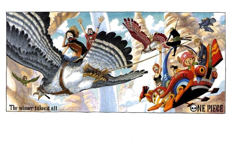 One Piece, Anime HD Wallpaper Desktop Background