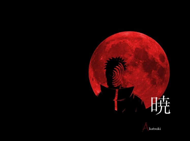 Akatsuki Tobi Moon Hd Wallpapers Desktop And Mobile