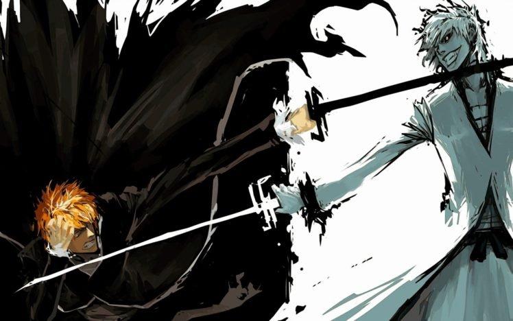 Bleach, Kurosaki Ichigo, Hollow HD Wallpaper Desktop Background