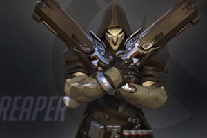 Overwatch, Blizzard Entertainment, Reaper (Overwatch)