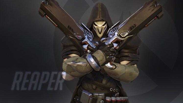 Overwatch Blizzard Entertainment Reaper Overwatch Hd
