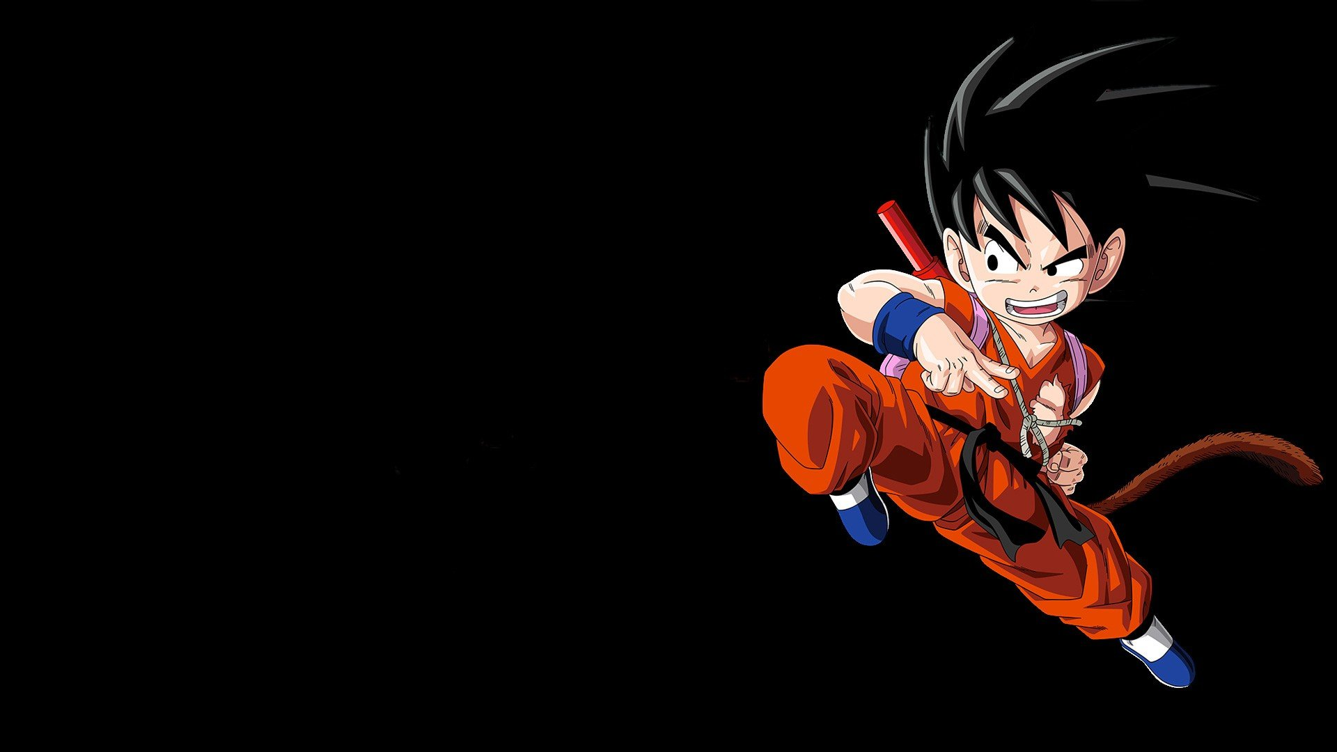 Dragon Ball Z Kid Goku Hd Wallpapers Desktop And Mobile Images Photos