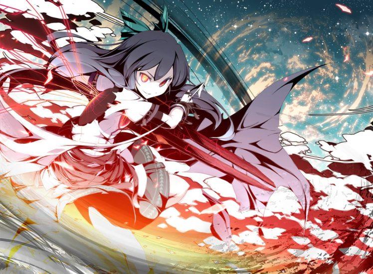 Touhou, Reiuji Utsuho HD Wallpaper Desktop Background