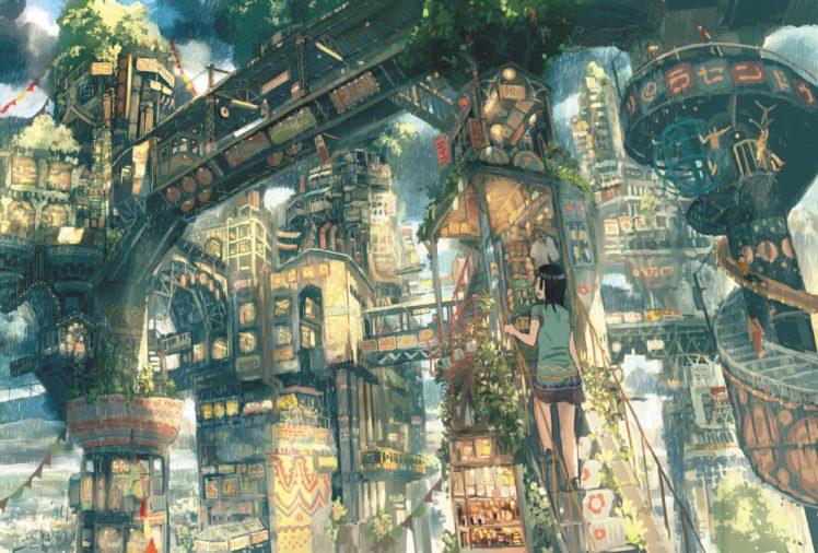 Imperial Boy, Rain, Heights, Stairs HD Wallpaper Desktop Background