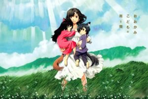 Wolf Children, Sunlight, Flowers, Anime