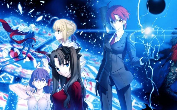 Fate Series, Saber, Fate Hollow Ataraxia, Bazett Fraga McRemitz, Karen Ortensia, Tohsaka Rin, Matou Sakura HD Wallpaper Desktop Background