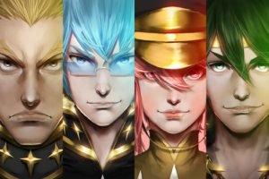 Kill la Kill, Anime, Gamagouri Ira, Sanageyama Uzu, Jakuzure Nonon, Inumuta Houka, Realistic