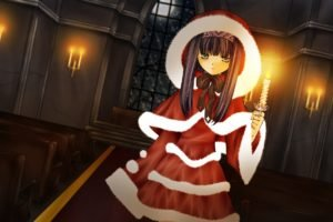 Christmas, Anime, Anime girls, Elemental Gelade, Reverie Metherlence