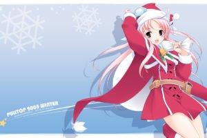 Christmas, Anime, Anime girls, Shirokuma Bell Stars, Hoshina Nanami