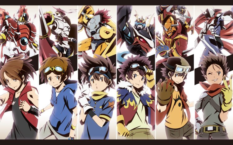 Digimon Adventure, Digimon, Digimon Frontier, Digimon Tamers, Digimon Savers HD Wallpaper Desktop Background