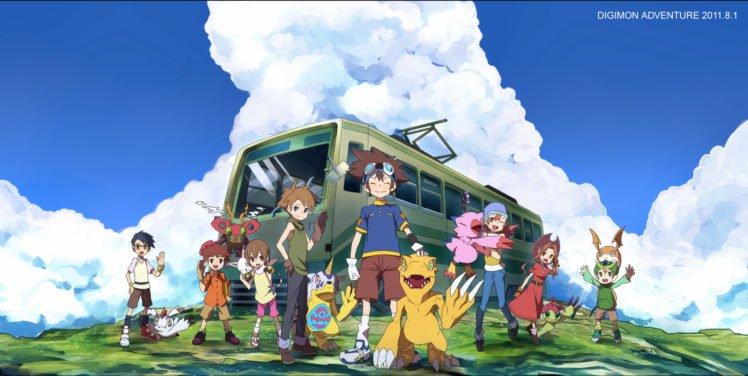 Digimon Adventure, Digimon HD