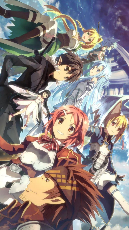 Sword Art Online, Shinozaki Rika, Ayano Keiko, Yui MHCP001, Kirigaya Kazuto, Kirigaya Suguha, Asada Shino, Yuuki Asuna, Tsuboi Ryotaro HD Wallpaper Desktop Background