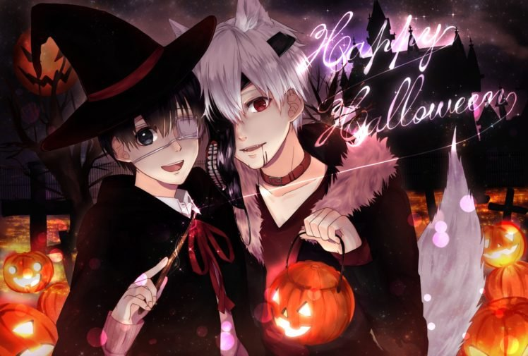Tokyo Ghoul Kaneki Ken Halloween Hd Wallpapers Desktop And