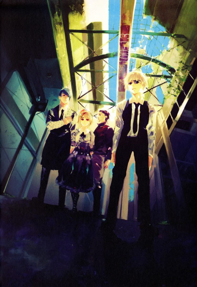 Tokyo Ghoul, Kaneki Ken, Shuu Tsukiyama, Fueguchi Hinami, Kazuichi Banjou HD Wallpaper Desktop Background