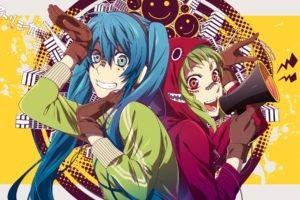 Hatsune Miku, Megpoid Gumi, Anime girls, Anime, Vocaloid