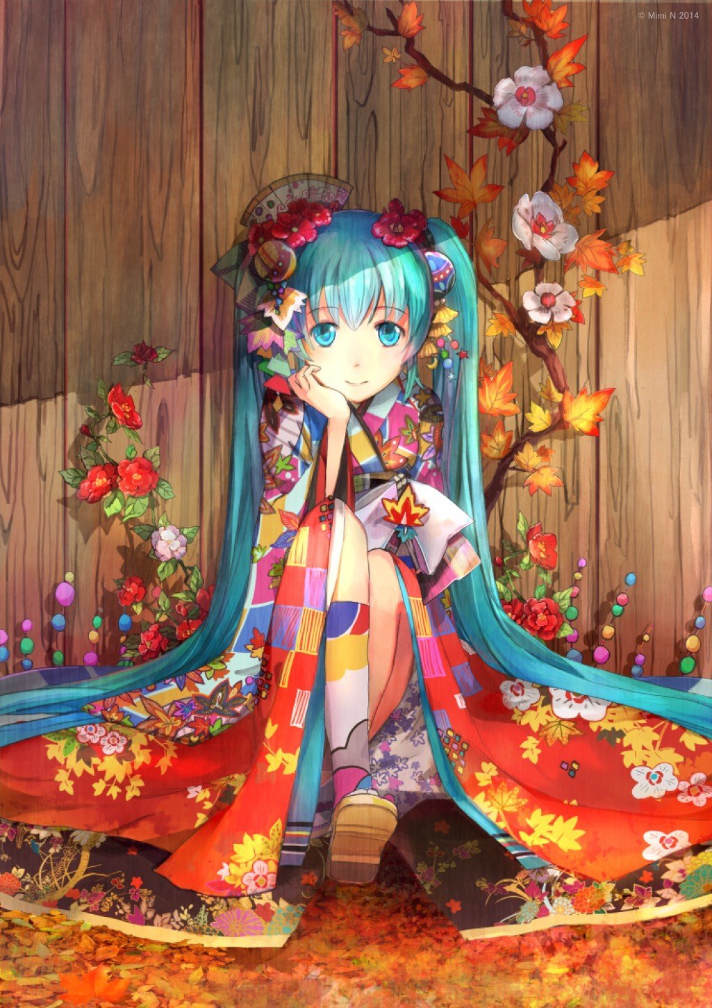 17 Best images about Anime - Kimono and Other Traditional ... |Traditional Kimono Anime