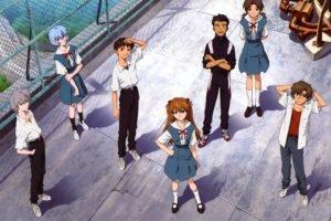 Neon Genesis Evangelion, Asuka Langley Soryu, Ikari Shinji, Ayanami Rei