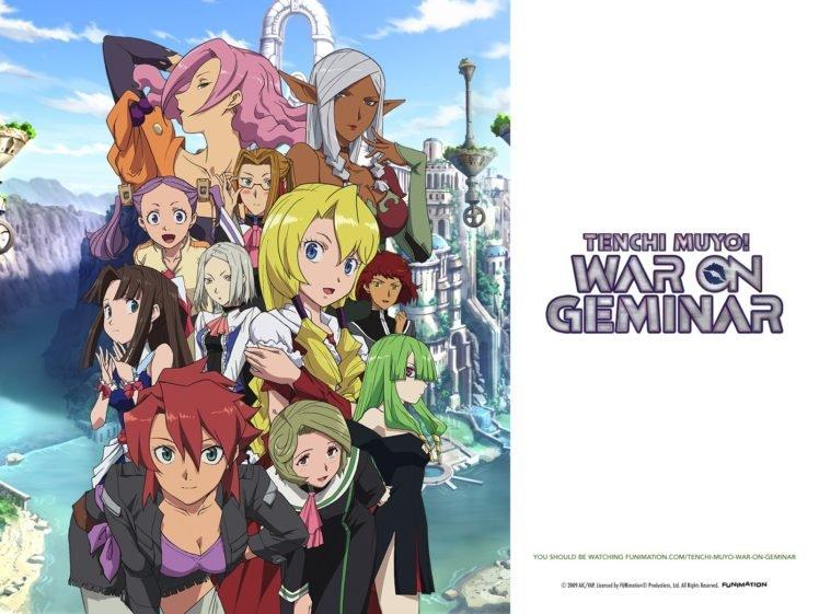 Tenchi Muyo!, Anime HD Wallpaper Desktop Background