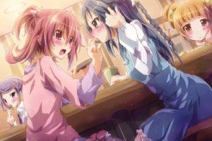 anime, Anime girls, Precure, Aida Mana, Hishikawa Rikka, Kenzaki Makoto, Yotsuba Alice, DokiDoki! Precure