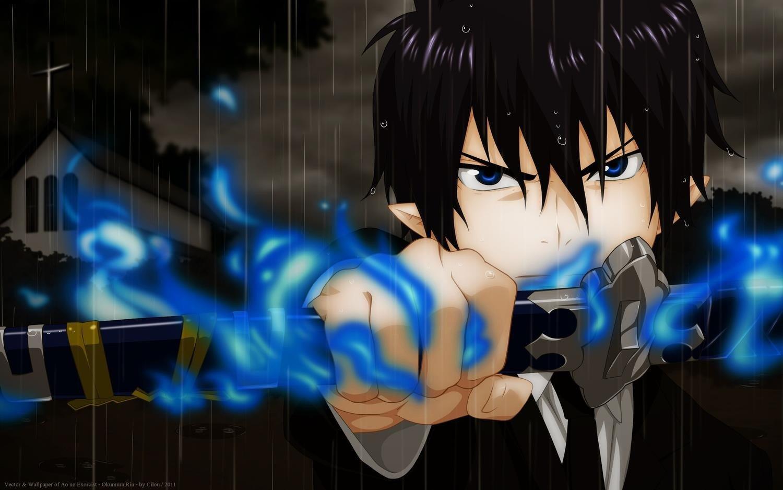 anime, Blue Exorcist, Okumura Rin, Anime boys HD ...
