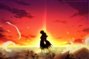 anime, Fairy Tail, Dragneel Natsu, Heartfilia Lucy