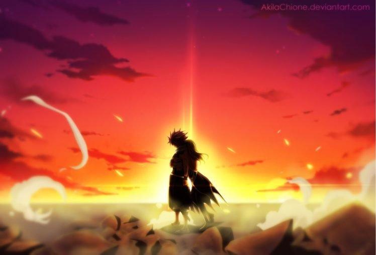 Anime Fairy Tail Dragneel Natsu Heartfilia Lucy Hd