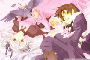 anime, 07 ghost, Roseamanelle Ouka Barsburg, Mikage (07 ghost)