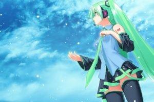 anime, Hatsune Miku, Vocaloid