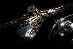 Stargate, Destiny spaceship, Destiny shuttle, Space