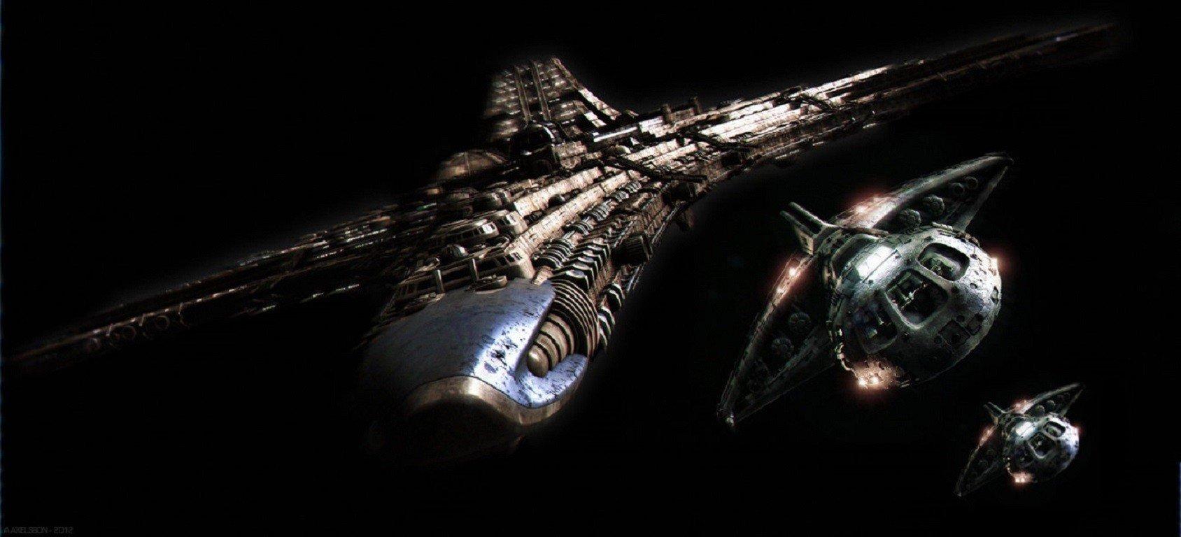 Stargate destiny spaceship destiny shuttle space hd - Spaceship wallpaper ...