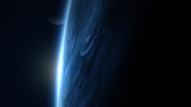 artwork, Space art HD Wallpaper Desktop Background
