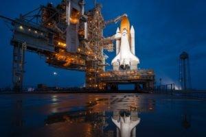 spaceship, NASA, Space shuttle, Space Shuttle Atlantis