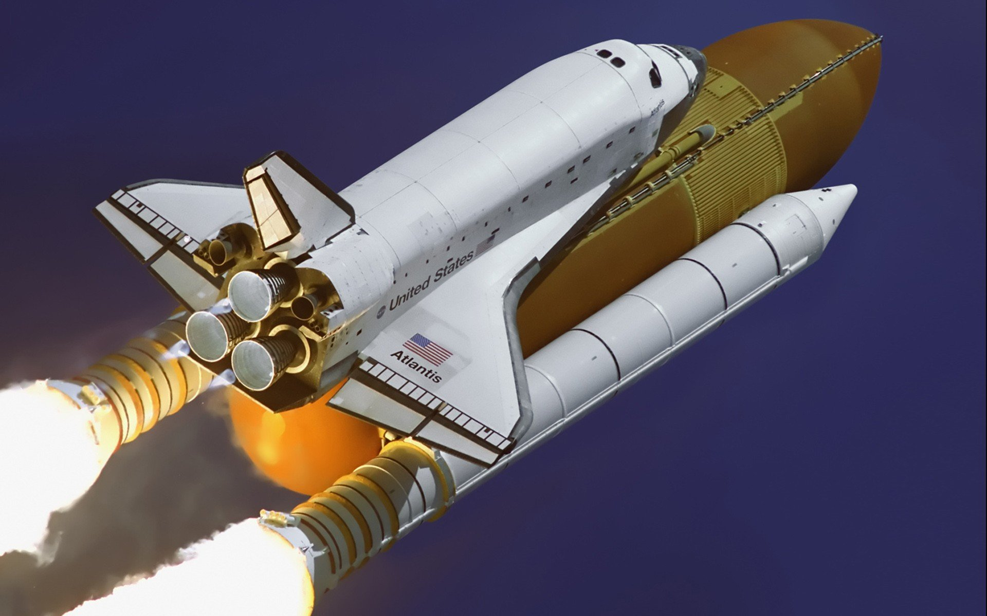Vehicle, NASA, Space Shuttle Atlantis HD Wallpapers
