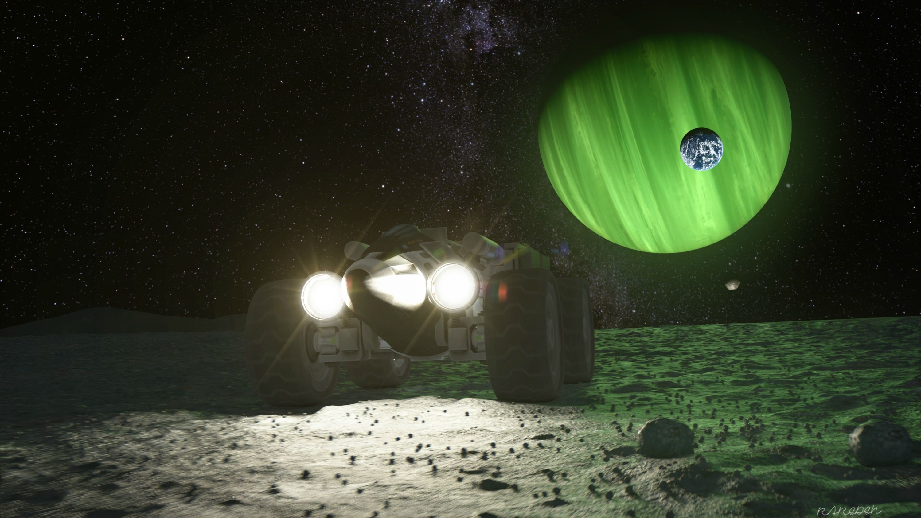 Kerbal space program mun mun rover rover hd wallpapers - Wallpaper kerbal space program ...