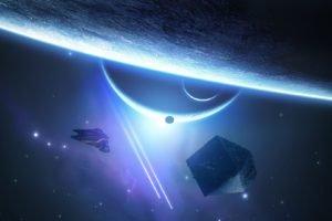Elite: Dangerous, Space