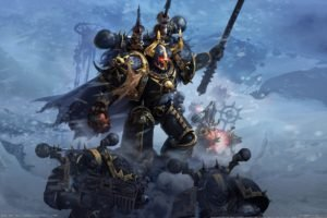 Warhammer 40, 000, Chaos Space Marine, Space marines, WH40K, Warhammer 40, 000: Dawn of War II   Chaos Rising, Chaos Undivided, Alpha Legion