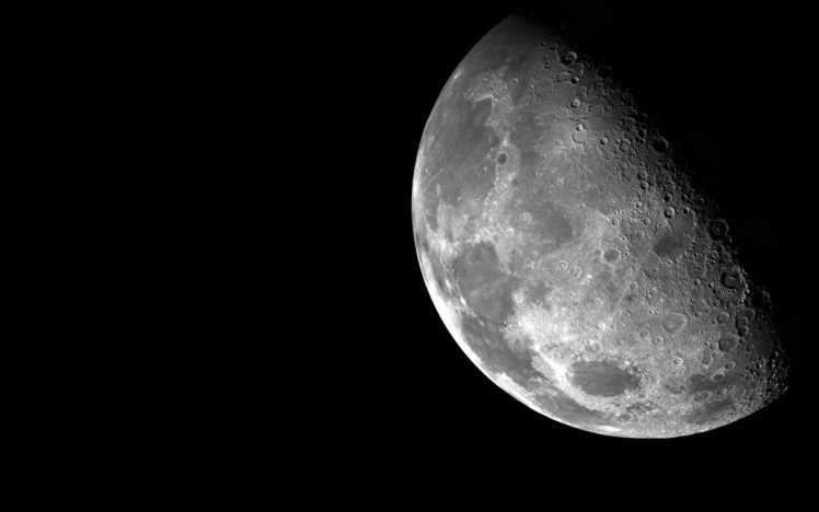 moon, Space HD Wallpaper Desktop Background