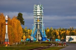 space station, Spaceship, Rockets, Clouds, Russian, Trees, Technology, Soldier
