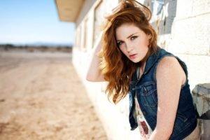 freckles, Redhead, Women