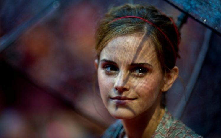 women, Emma Watson, Face, Actress HD Wallpaper Desktop Background