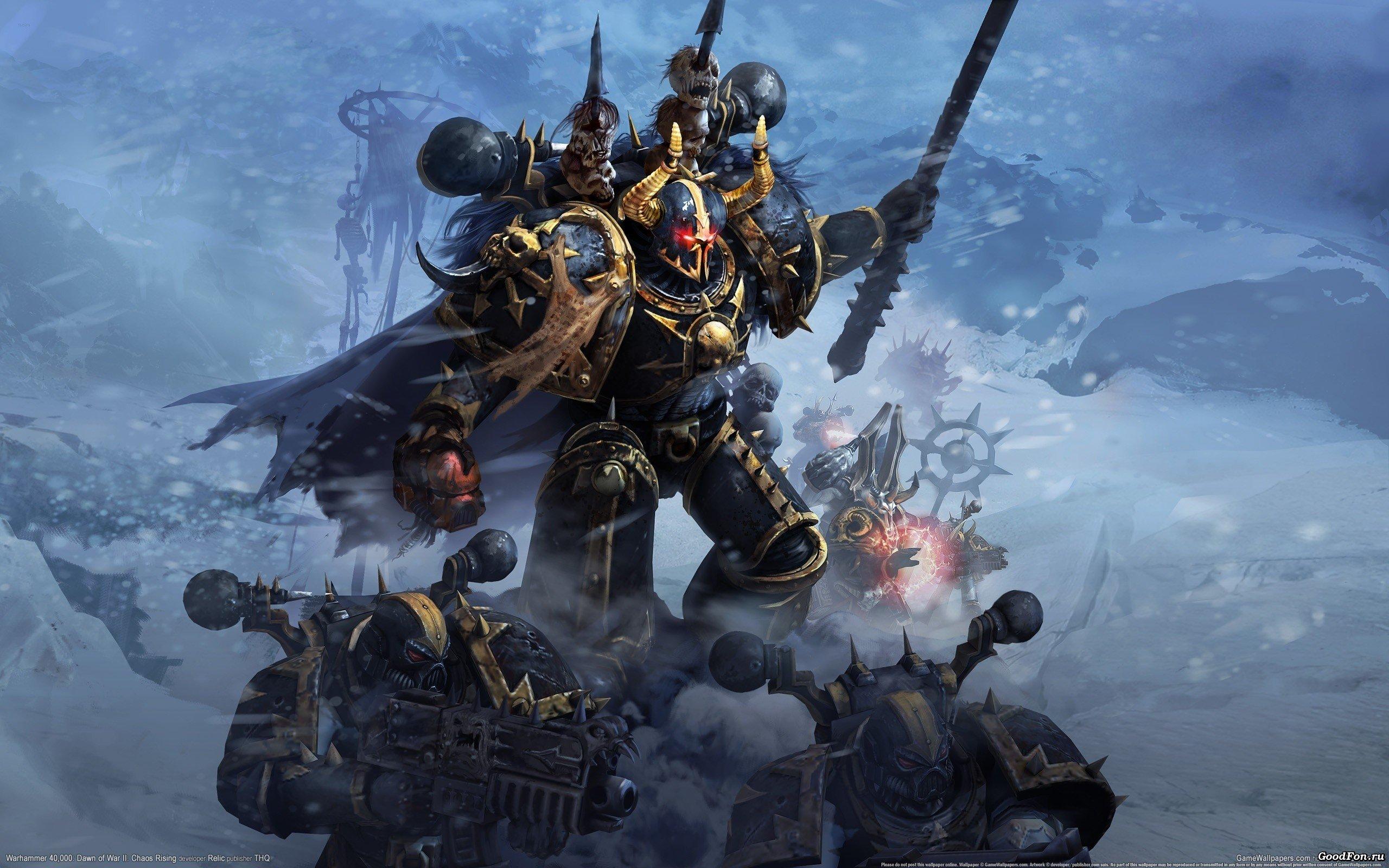 Warhammer 40 000 Dawn Of War Ii Chaos Rising Chaos Space