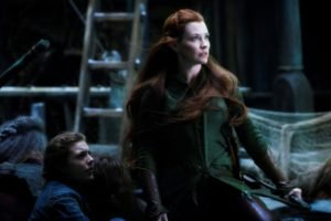 The Hobbit, Women, Redhead, Tauriel, Evangeline Lilly, The Hobbit: The Battle of the Five Armies