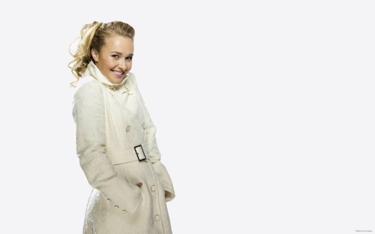 Hayden Panettiere, Blonde, Platinum blonde, Eyes, Blue eyes, Lips, Smiling, Women HD Wallpaper Desktop Background